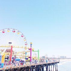 Famous Santa Monica Pier