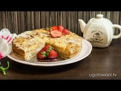 Szarlotka sypana - Pyszna i szybka - Przepis FIT   Ugotowani.tv HD - YouTube French Toast, Sweet Home, Breakfast, Fit, Youtube, Morning Coffee, House Beautiful, Morning Breakfast, Youtube Movies