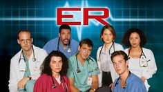 ER - I only watched until 1999 when George Clooney left the show. Series Movies, Movies And Tv Shows, Tv Series, Medical Drama, Hooray For Hollywood, Tv Times, Old Tv Shows, Tv Actors, George Clooney