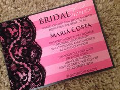 Victoria Secret Themed Bridal Shower by EmbellishedPrints on Etsy