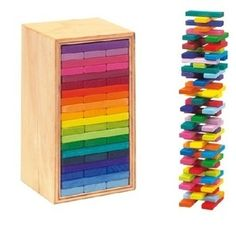 """Building slats in 'Tower in a box"""""""