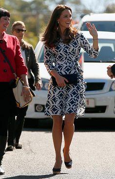 Kate Middleton's Diane Von Furstenberg's wrap dress sells out in eight minutes