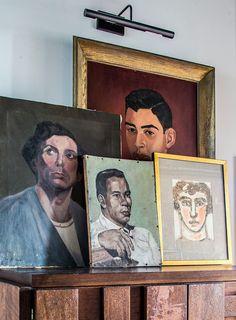 Male portrait Portrait painting Room decor Home decor Man portrait Wall art print portrait Apartment decor Office decor Portraiture