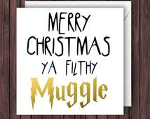 Funny Harry Potter Christmas by TheDandyLionDesigns Funny Christmas Cards, Xmas Cards, Christmas Humor, Christmas Diy, Christmas Messages, Christmas Stuff, Holiday Cards, Funny Greeting Cards, Funny Cards