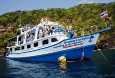 Diving cruises at the Similan Islands in Thailand are always something to get excited about. Four or five days and nights on a boat, with all meals, air-conditioned accommodation, diving equipment and up to four dives per day doesn't need to be expensive. MV Dolphin Queen offers possibly the best value Similan diving trips with equipment included in the price and discount offered to those who have their own.