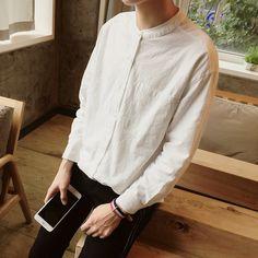 427d253d35 Las 12 mejores imágenes de camisas cuello chino
