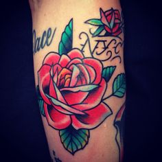 Luke wessman rose tattoo #rosetattoo #nyc #nyctattoo