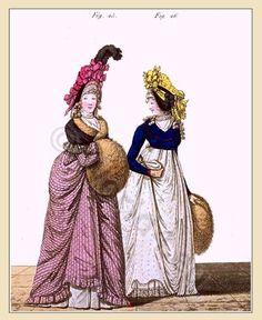 Regency Spencer of dark blue cloth. Regency era fashion.