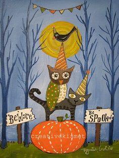 Printable Halloween Art