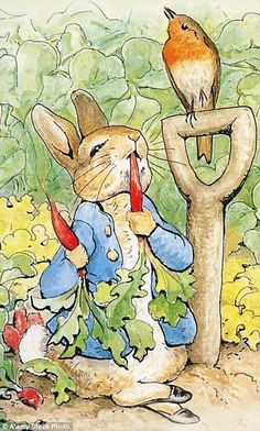 Beatrix Potter was behind the creation of The Tale of Peter Rabbit...