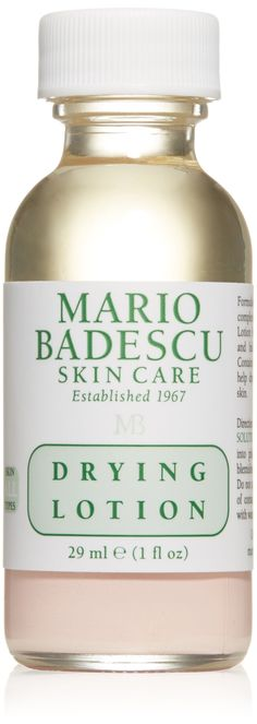 This stuff is magic if you have any breakouts and lasts forever. One of my secret weapons. Mario Badescu Drying Lotion, 1 fl. oz.