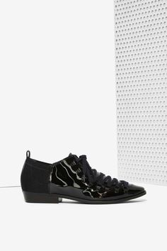 Ateljé 71 Sion Patent Leather Oxford | Shop Shoes at Nasty Gal!