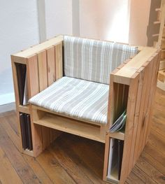 Armchair Made From Pallets  ----   #pallets