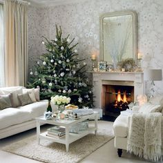 Sparkling crystal living room