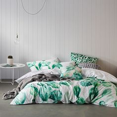 Home Republic - Cacti - Bedroom Quilt Covers & Coverlets – Adairs online