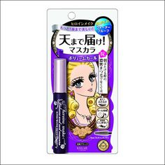 Isehan Kiss Me Heroine Make Volume & Curl Mascara Super Water Proof Black 6g you can buy direct from Japan