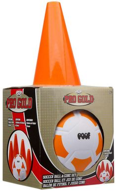 From strikers to centers, train like a pro with this on-the-go POOF Pro Gold Soccer Ball & Cone Set . The foam soccer ball is great for beginners and younger athletes learning the game. Train Activities, Sports Activities, Physical Activities, Messi Y Ronaldinho, Messi Gif, Sports Games For Kids, Soccer Games, Soccer News, Soccer Practice