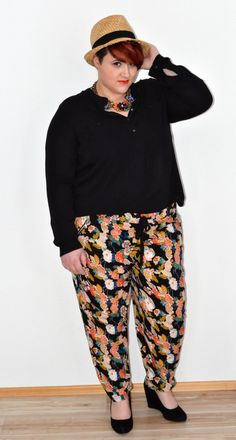 Springtime's about to come....and I am all set with this outfit by Asos Curve and H&M+
