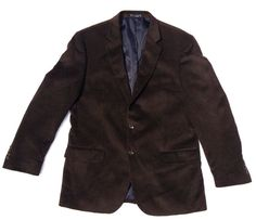 NEW $200 Nautica Cashmere/Soft Wool-Feel Sport Coat, Dark Brown - Size 40R #Nautica #TwoButton