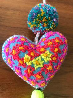 Enquiries: jubelshop@outlook.com ||Rococo embroidery Pompom bag charms  #etsy #boho #tassel #embroidery #favors #bagcharm #handmade #favors #favor #craft #pompom