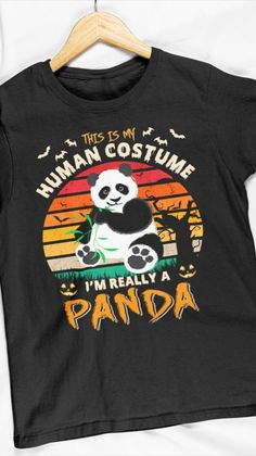 Cool Halloween Costumes, Baby Animals, Panda, Sweatshirts, Sweaters, Mens Tops, Fashion, Moda, Baby Pets