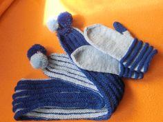 Wurm-Schal-Handschuh-Set - Galerie -