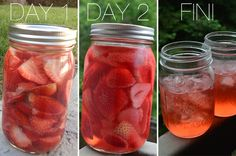 DIY Strawberry Infused Vodka