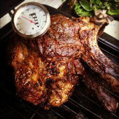 RIBSTUK (COTE DE BOEUF) OP DE BBQ