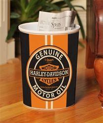 Exceptional Harley Davidson Genuine Motor Oil Wastebasket