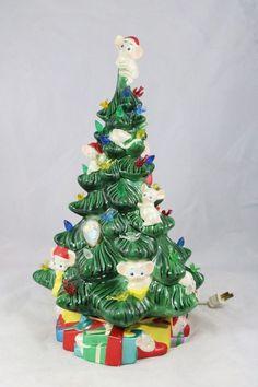 Ceramic Christmas Tree Light by PandACeramics on Etsy, $99.99 ...