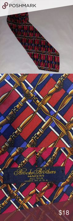 """Brooks Brothers silk tie red 57"""" Great condition Brooks Brothers Accessories Ties"""