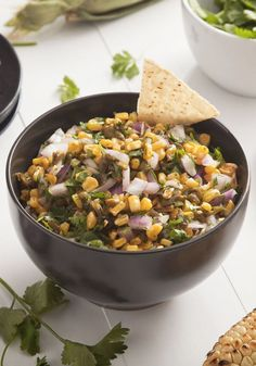 Think outside the jar for your next summer party appetizer with this recipe for Grilled Corn and Roasted Jalapeno Salsa from Inspired Gathering. This slightly spicy, slightly crunchy shareable snack is sure to become a go-to dish.