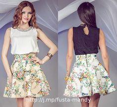 Fusta scurta Mandy Waist Skirt, High Waisted Skirt, My Style, Skirts, Fashion, Moda, High Waist Skirt, Fashion Styles, Skirt