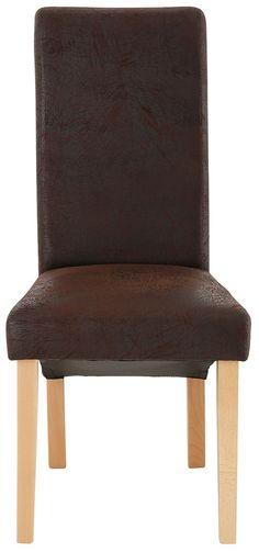 Dieser hochwertige Massivholz-Stuhl von Home affaire in moderner Landhaus-Optik besticht durch seine harmonische Ausstrahlung und den hohen Sitzkomfort. Die Kombination klassischer Materialien und Formen mit modischen Details machen aus diesem Esszimmerstuhl eine stilvolle Erscheinung, die sich toll in unterschiedliche Raumkonzepte einfügen lässt. Das Gestell ist aus FSC®-zertifiziertem Buchenh...