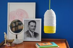 Craft a Colorful Rope Lampshade