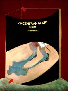 """Francis Bacon, """"Omaggio e Van Gogh"""""""