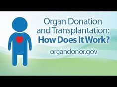 Donation and Transplantation: How does it work? Register to become an organ donor now at: http://www.donors1.org/doylestownhealth