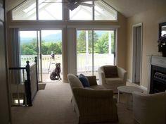 open, modern farmhouse in virginia