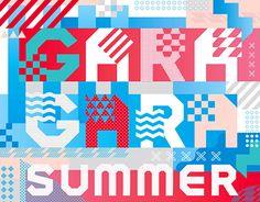 """다음 @Behance 프로젝트 확인: """"GARAGARA Summer Festival""""…"""