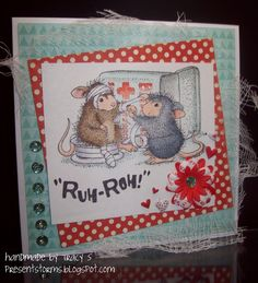 stamp: Dr. Amanda by House Mouse Designs - colored with Copics