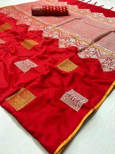 Looking stunning and classy with this soft silk sarees online shopping from Dvanza. The saree is made from Soft silk and is Red in color Soft Silk Sarees, Cotton Saree, Cotton Silk, Silk Sarees Online Shopping, Party Wear Sarees Online, Trendy Sarees, Fancy Sarees, Red Saree, Saree Dress