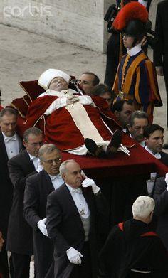 Italy Mourns Death Of Pope John Paul II.