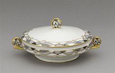 Légumier  Crevel René (1892-1971) manufacture - Chabrol & Poirier - Exposition Arts décoratifs Paris 1925