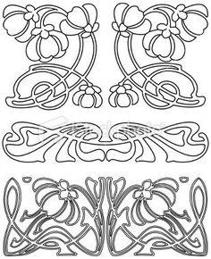 Art Deco Design Elements | Art Deco Design Elements 3 (Vector). Royalty Free Stock Vector Art ...