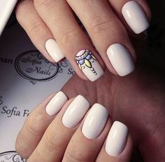 Beautiful nail art designs that are just too cute to resist. It's time to try out something new with your nail art. Fabulous Nails, Gorgeous Nails, Love Nails, My Nails, Trendy Nail Art, Stylish Nails, Uñas Diy, Nagellack Trends, Manicure E Pedicure