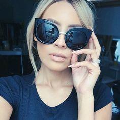 Quay sunglasses China Doll in Black http://www.thestylemerchant.com.au/quay-eyeware-chinadoll-black/
