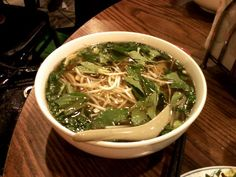 pho ga from Tank Noodle