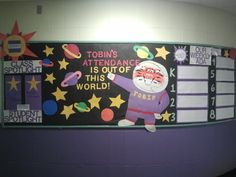 This board was located near the main office, for all students, staff and visitors to see.