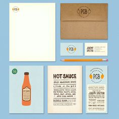 Adorable branding for a new NYC restaurant group, that specializes in comfort food. Lauren Hom