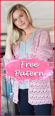 11 Cardigan Crochet Free Pattern Women – YARN OF CROCHET Hello friends addicted to crochet, today I am offering for you 11 models of Crochet Cardigan. There are 11 free patterns to choose the model that combines with your body and style. I love free empl… Kimono Crochet, Diy Crochet Cardigan, Black Crochet Dress, Crochet Coat, Crochet Jacket, Crochet Clothes, Crochet Sweaters, Crochet Backpack, Crochet Beanie
